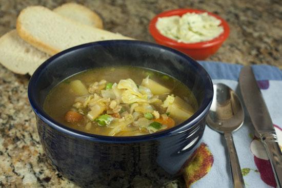 Image of Cheater's Veggie Soup, Macheesmo