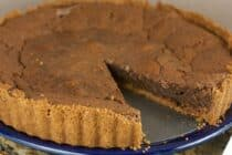 Orange Chess Pie from Macheesmo