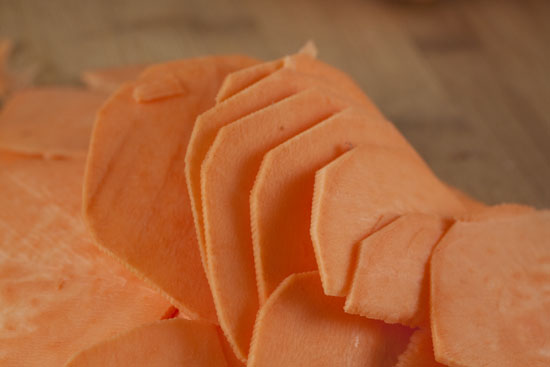 thin - Sweet Potato Chips