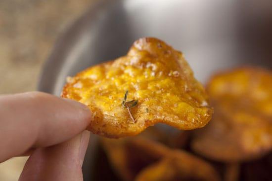 Sweet Potato Chips recipe
