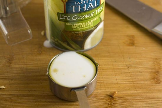 coconut milk for Cashew Dip