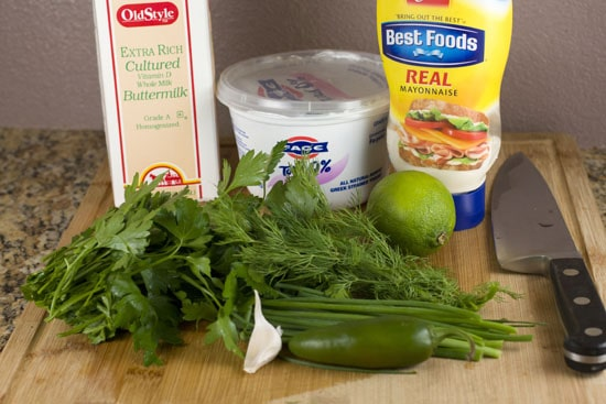 dressing stuff - Jalapeno Ranch Dressing