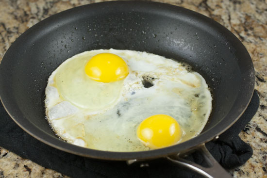 eggs for topping Winter Squash Hash