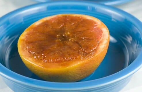 Broiled Grapefruit recipe from Macheesmo
