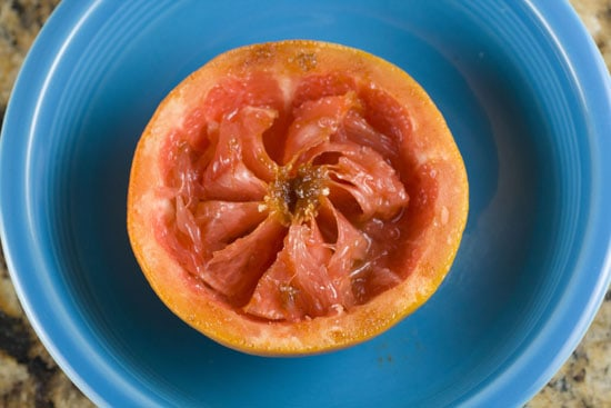leftovers - Broiled Grapefruit