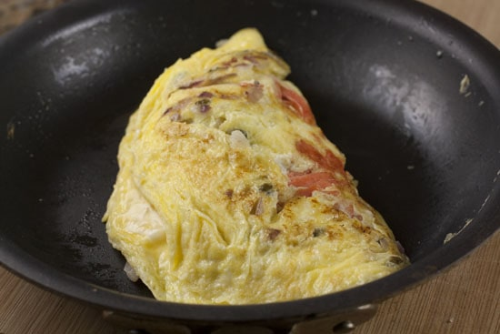 folded Lox Omelet