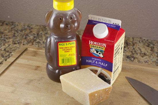 ingredients for Baked Fennel Dip
