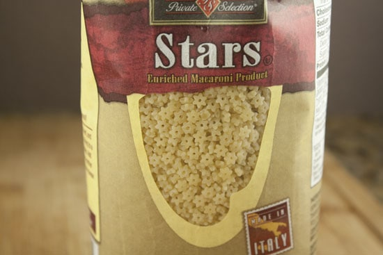 stars for Chicken and Stars soup