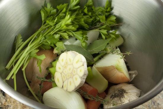 veggies for Chicken and Stars