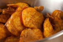 Sweet Potato Chips recipe from Macheesmo