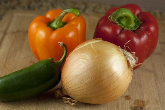 basics for Leftover Turkey Fajitas