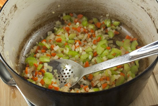 sauteed veg for Chicken and Stars
