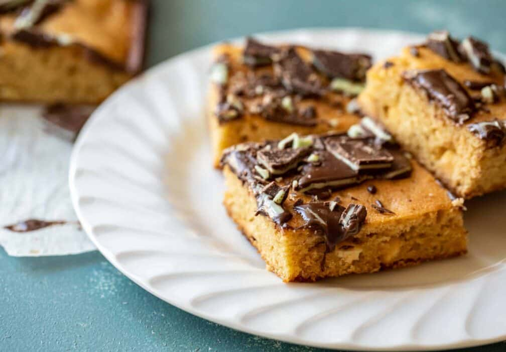 Andies Mint Blondies