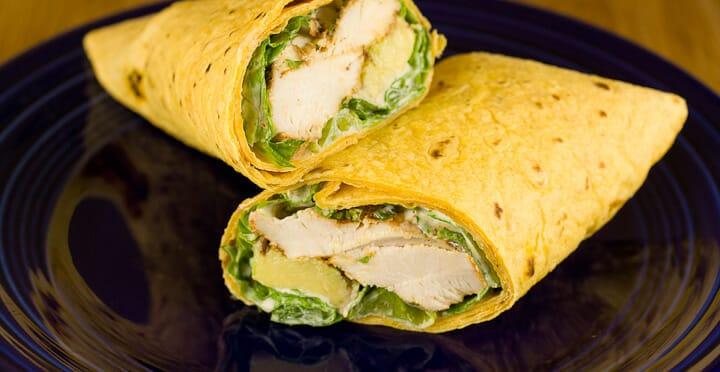 Baja Chicken Wraps from Macheesmo