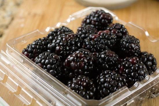 blackberries for Blackberry Big Crumb Coffee Cake