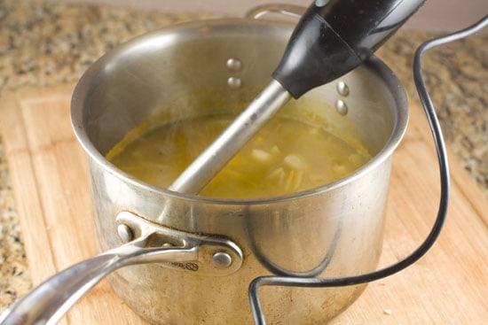 blender - Roasted Garlic Soup