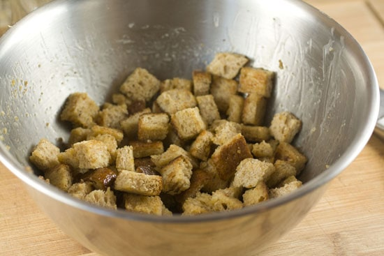 tossed Cinnamon Crunch Croutons