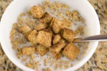 Cinnamon Crunch Croutons recipe from Macheesmo