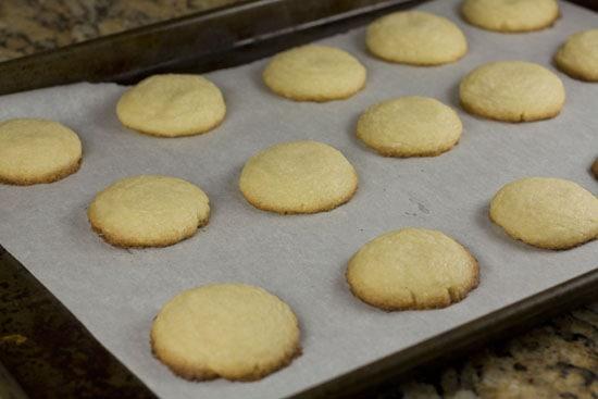 cooked Lemon Tea Cookies