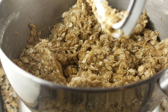 dough for Brown Butter Oatmeal Cookies