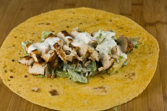 finished - Baja Chicken Wraps