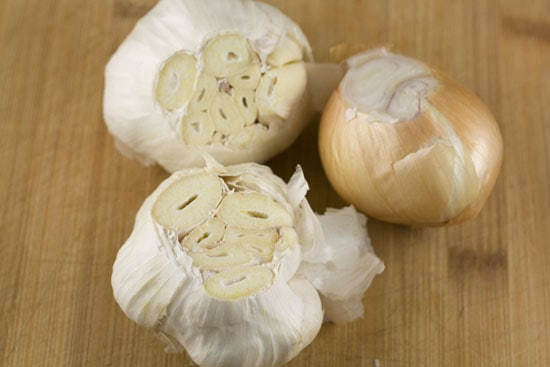garlic for Roasted Garlic Soup