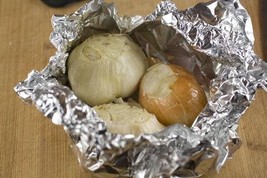 baked - Roasted Garlic Soup