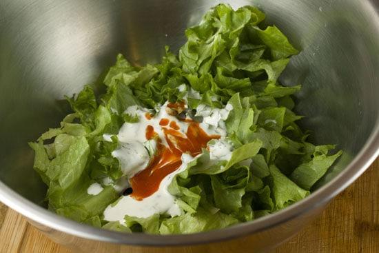 lettuce - Baja Chicken Wraps