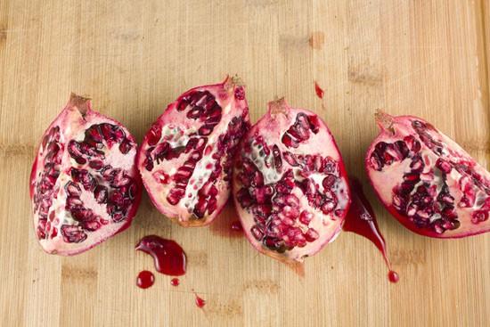 pomegranate - Persimmon Risotto