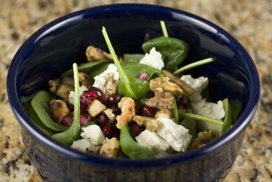 salad to serve with Winter Squash Ravioli