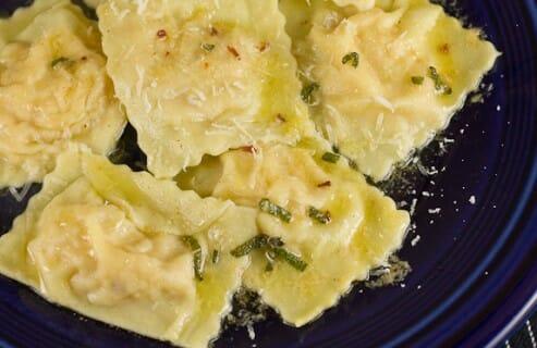 Winter Squash Ravioli recipe from Macheesmo