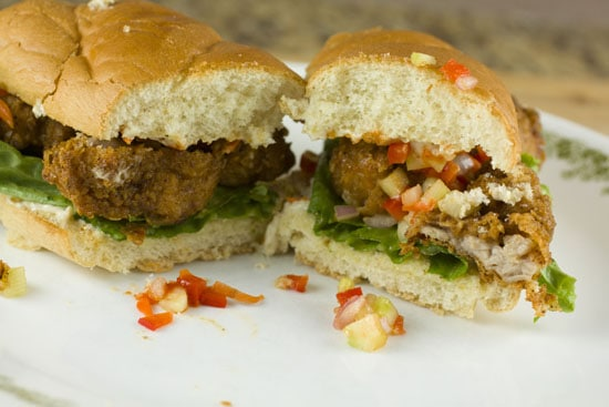Sweetbreads Po Boys recipe - yum
