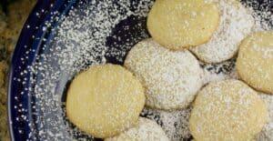 Lemon Tea Cookies recipe