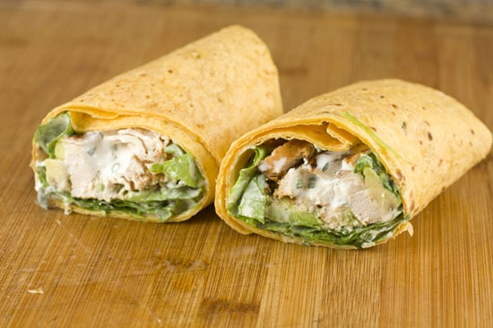 Baja Chicken Wraps recipe