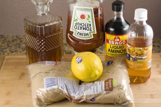 bourbon glaze recipe ingredients