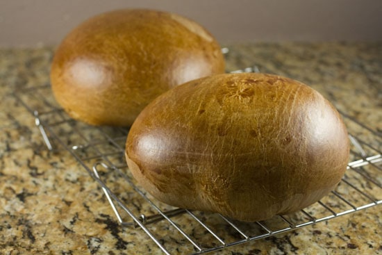 loafs of Portuguese Sweet Bread