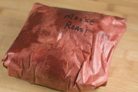 moose roast - Bourbon Glaze recipe