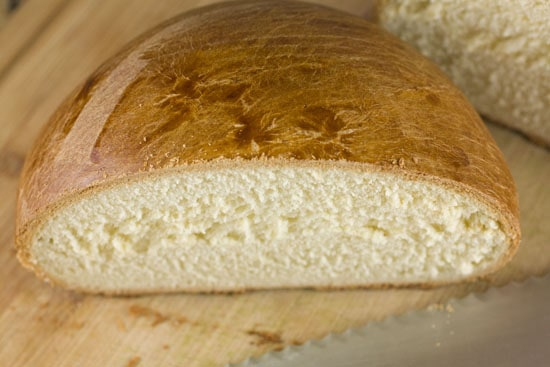 sliced Portuguese Sweet Bread