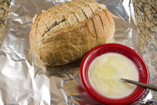 bread to go with Roasted Beet Soup