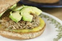 Brown Rice Burgers recipe