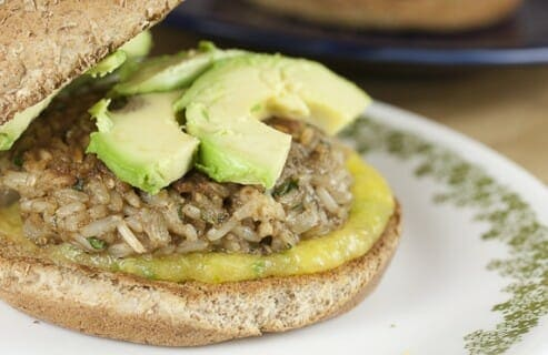 Brown Rice Burgers recipe