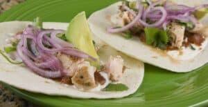 Salmon Tacos Recipe - Macheesmo