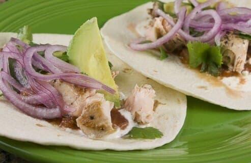 Salmon Tacos Recipe - Macheesmo