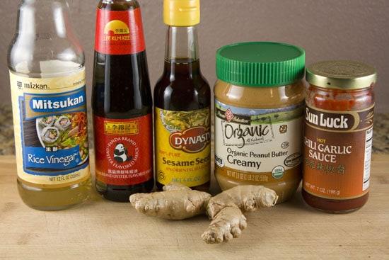 sauce stuff for Sesame Chicken Noodle Salad