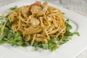 Sesame Chicken Noodle Salad recipe