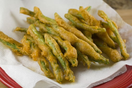 golden Fried Green Beans
