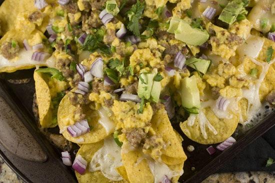Breakfast Nachos from Macheesmo