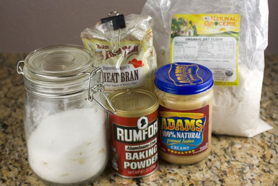 ingredients for Homemade Bran Flakes
