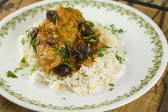 Slow Cooker Chicken Provencal recipe