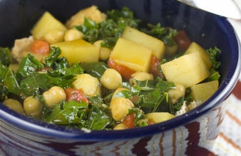 Thirty Minute Chickpea Stew from Macheesmo